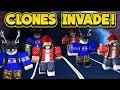 CLONES INVADE JAILBREAK! (ROBLOX Jailbreak)