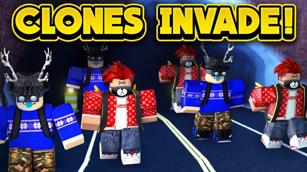 Roblox Jailbreak By Napkinnate Clones Invade Jailbreak Roblox Jailbreak Youtube