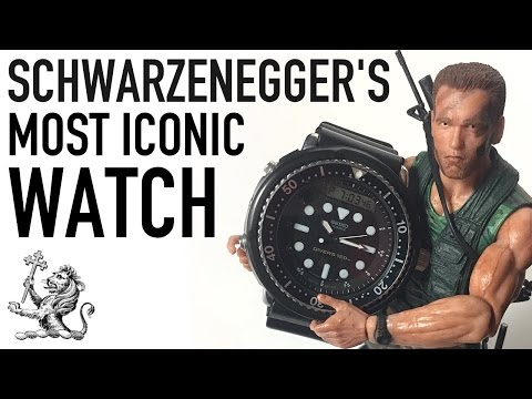 "Arnold Schwarzenegger's Most Iconic Watch - A Review Of The Seiko ""Arnie"" H558-5009 Divers Watch"
