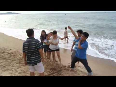 Vui chơi bờ biển Phan Thiết