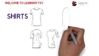 drawing shirts, how to draw shorts, coloring book for kids