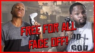 BROTHERLY FREE FOR ALL FACE OFF! - COD Modern Warfare Remastered
