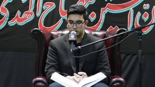Quran Recitation   Mustafa Al-Ali   Fatimiyya 1438 - Night 3