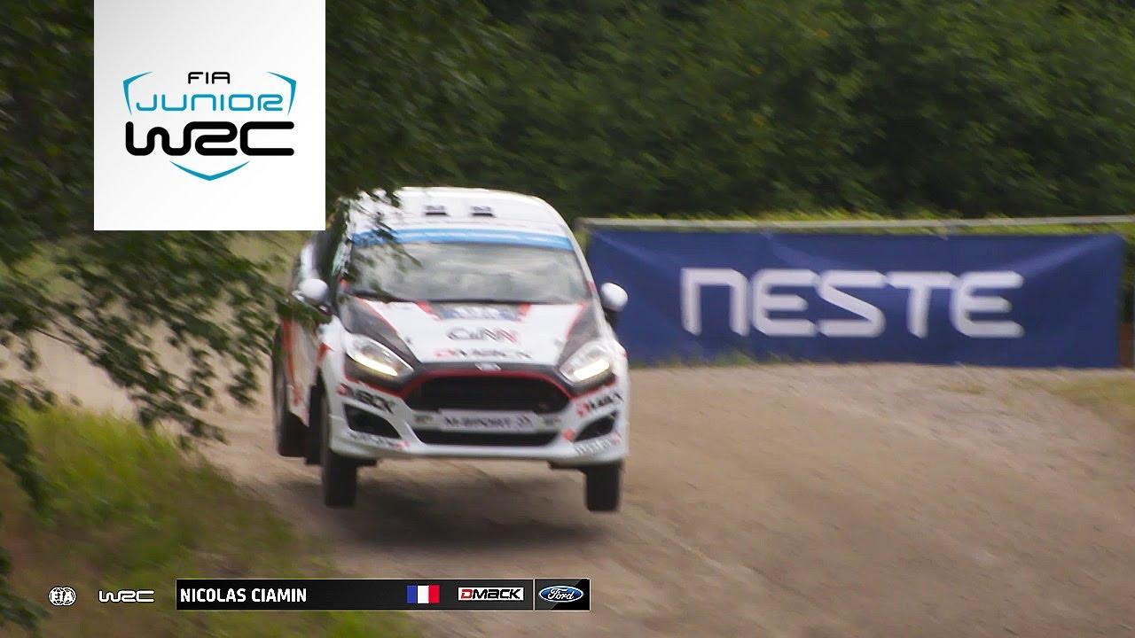 FIA Junior WRC - Neste Rally Finland 2017: Highlights Friday