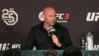 DANA WHITE'S UFC 226 POST FIGHT PRESS CONFERENCE