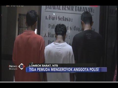 Dua Anggota Polisi di Lombok Dikeroyok Tiga Pemuda Gara-gara Alunan Musik -  iNews Malam 06/07