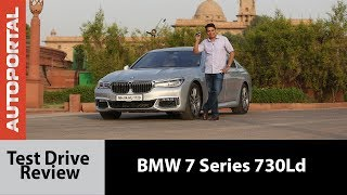 BMW 7 Series 730Ld Test Drive Review - Autoportal