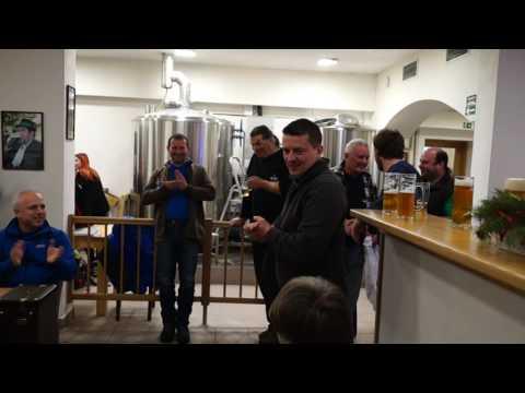 Lomnické pivo - slavnostní ochutnávka 6.1.2017 v pivovaru Rezek