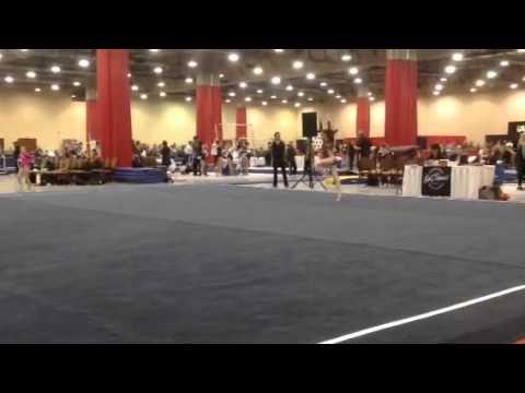 9.85 Floor Routine .. Kurt Thomas invitational  Level 7
