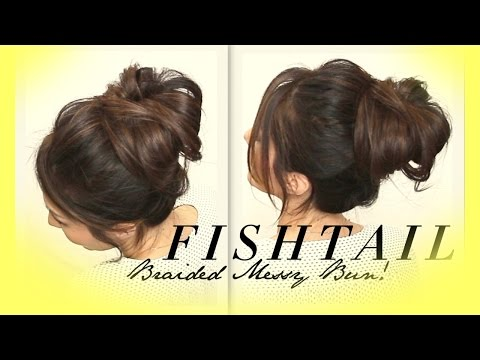★-voluminous-braided-messy-bun-tutorial-|-cute-hairstyles-for-medium-long-hair-|-school-prom-wedding