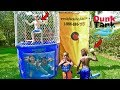 DUNK TANK CHALLENGE GIRLS VS. BOYS