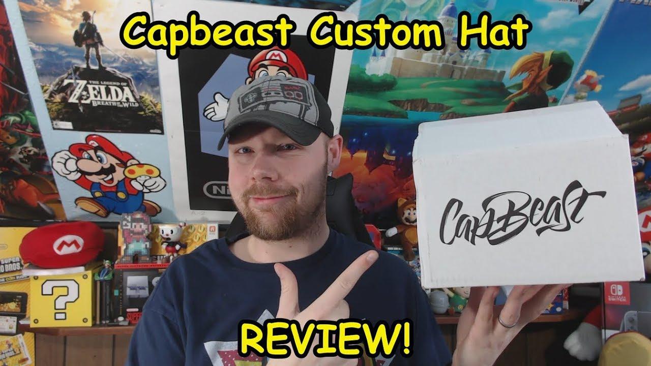 8ad4f9412779a CapBeast Custom Hat Review! - YouTube
