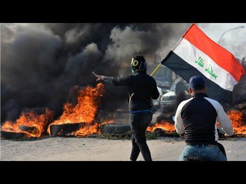 العراق: الولايات المتحدة تدعو لمحاسبة الذين يحاولون -تكميم- أفواه المتظاهرين -بوحشية-  - 23:59-2019 / 12 / 4