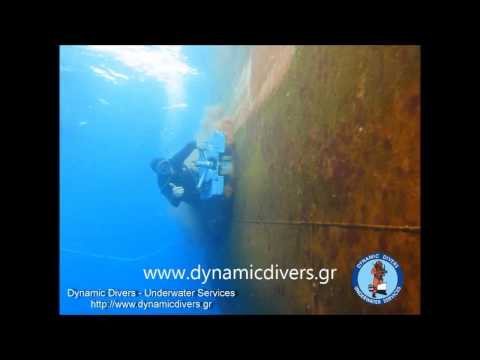 Hull cleaning Brush Kart by Dynamic Divers Co