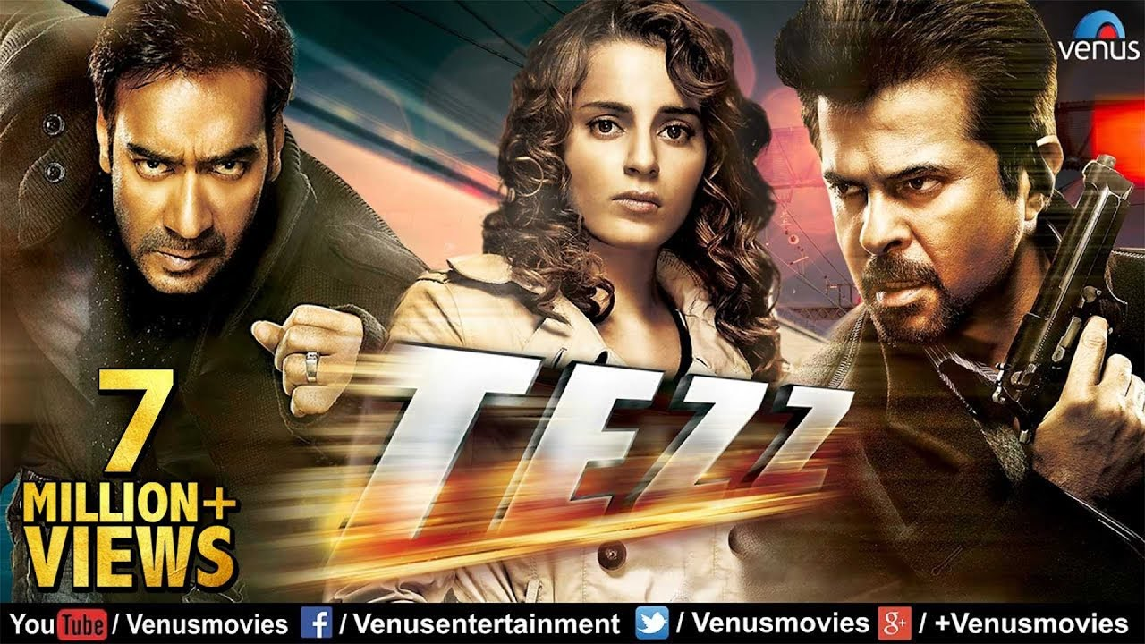 Tezz Full Movie | Hindi Movies 2017 Full Movie | Hindi Movies | Ajay Devgan Full Movies