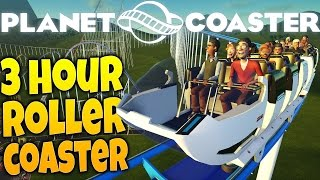 planet coaster the lazy coaster 3 hour roller coaster ride planet coaster gameplay part 6