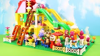 Peppa Pig Legos House Construction Sets - Lego Duplo House Creations Toys For Kids #8