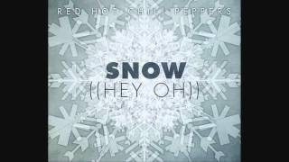 Red Hot Chili Peppers - Snow (Hey Oh) instrumental official album studio [good quality and drum