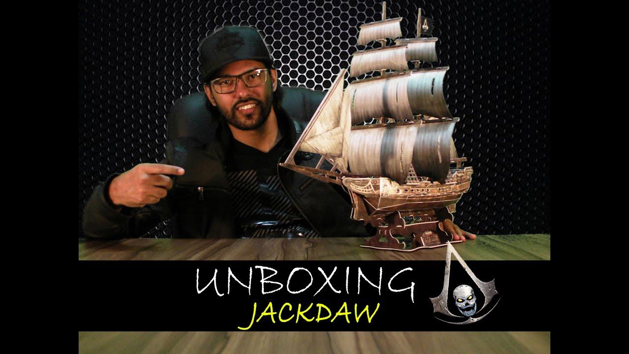 Assassins Creed Black Flag JACKDAW - UNBOXING - YouTube