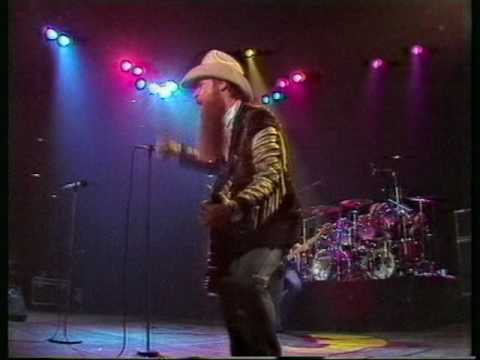 ZZ Top Ten foot pole 1982