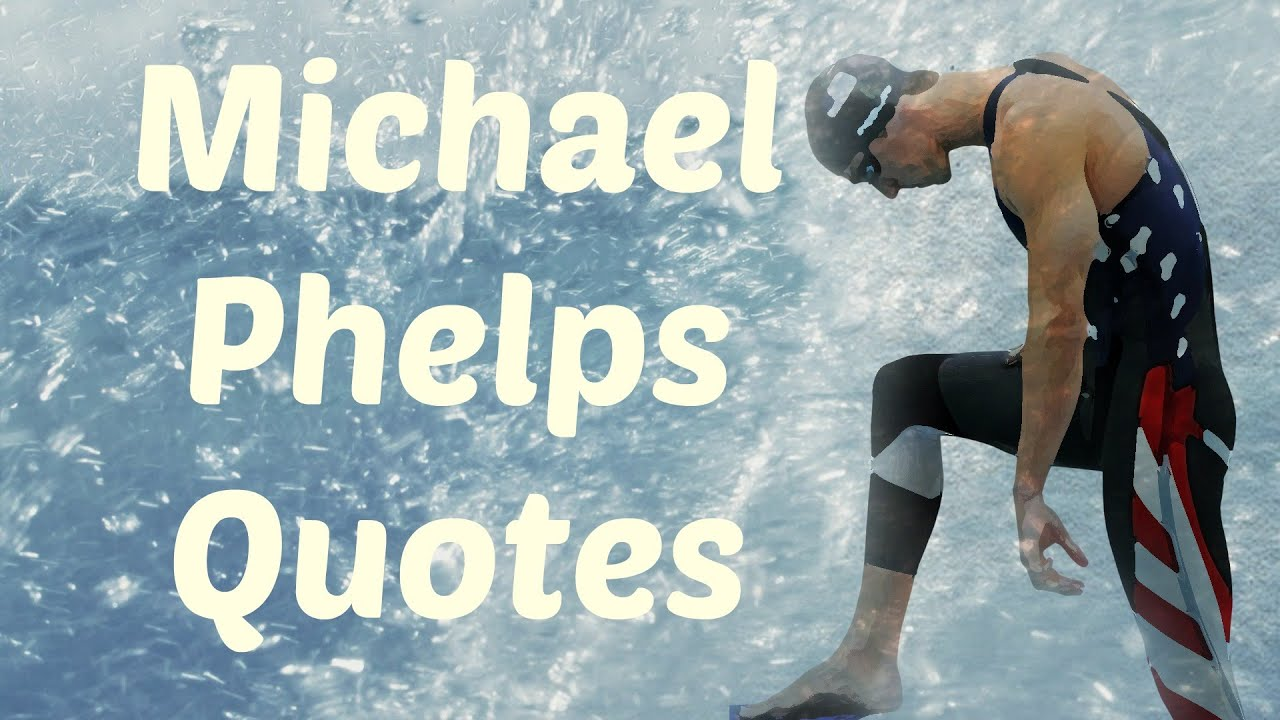 michael phelps 10 real life quotes on success inspiring
