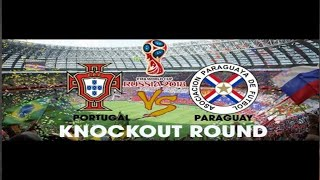 Paraguay vs Portugal | Fifa World Cup 2014 Gameplay PC