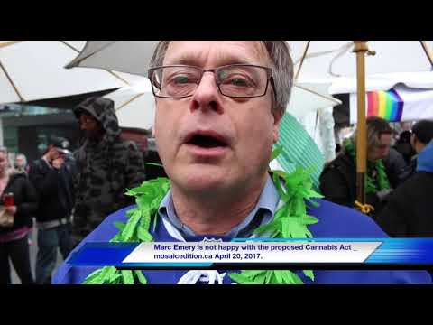 Marc Emery is not happy with the proposed Cannabis Act