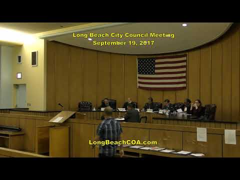 Long Beach NY City Council Meeting 09/19/17