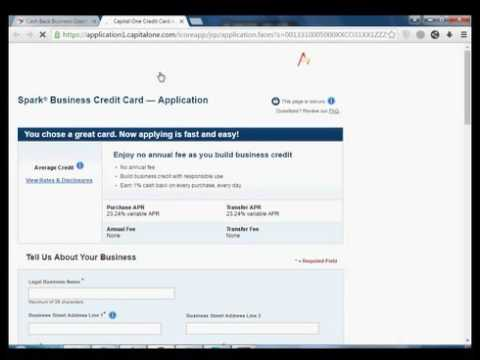 Capital one spark how to apply to capitalone spark classic for business credit card colourmoves