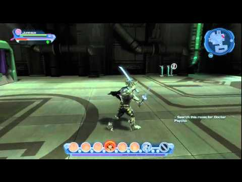 DC Universe Online - Rescuing Supergirl from Dr. Psycho Part 1/2
