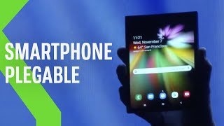 El primer SMARTPHONE PLEGABLE de Samsung gracias a Infinity Flex Display