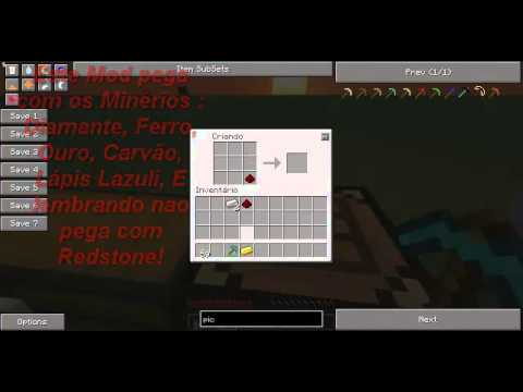 Minecraft Tutorial: Metal Detector