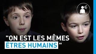 """Ecoutons les enfants : """"On est les mêmes êtres humains"""""""