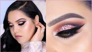glitter-cut-crease-prom-makeup-tutorial