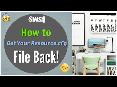 fichier resource.cfg sims 4