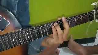 Bermain gitar bersama teman*