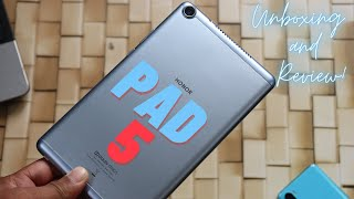 Honor Pad 5 4GB 64GB Unboxing and Review Best Tablet Under Rs 15000 HINDI