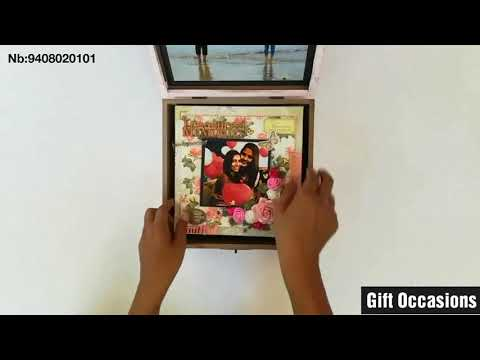 Vintage Album in a designer wooden Box | DIY Gifts | Gift Occasions