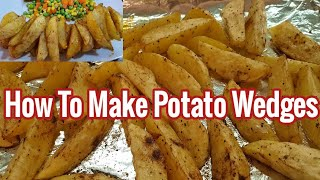 How To Cook Potato Wedges//Malyn Jaromay