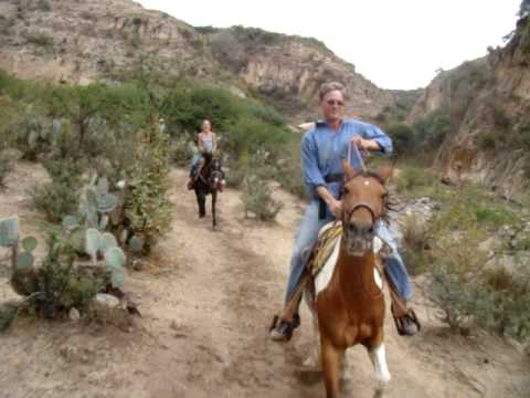 Melcher family riding with Coyote Canyon Adventures...Ann Garwood, too!