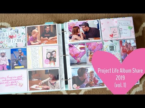 Project Life Album Share - Family Album 2019 (vol.1)
