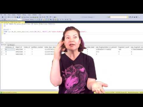 Should You Rebuild Or Reorganize Large Indexes? (Dear SQL DBA Episode 19)