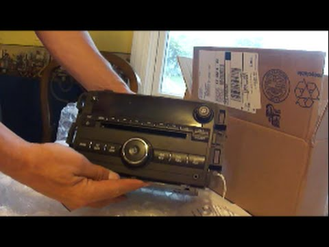 Removing and installing radio 2010 Chevy Impala LT