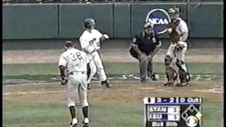 LSU 6 Stanford 5 Baseball Title 2000