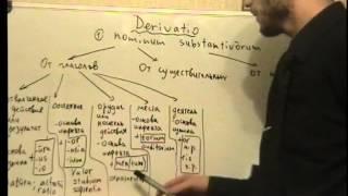 Урок 38. Латинский язык. Словообразование существительных