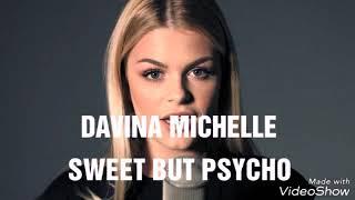 Ava Max - Sweet But Psycho (cover by Davina Michelle)|lyrics⬇️