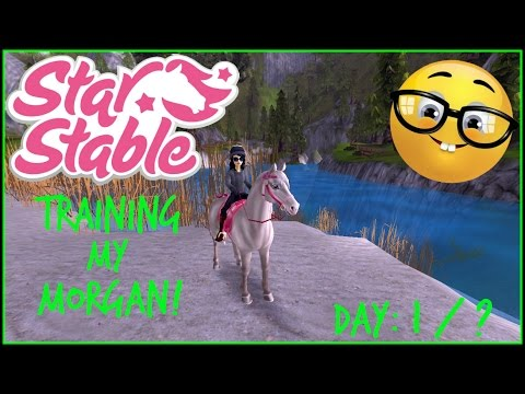 Star Stable Online- Training My Morgan Horse Day 1