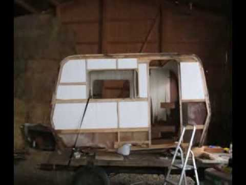 wohnwagen restauration hymer eribette 1975 youtube. Black Bedroom Furniture Sets. Home Design Ideas