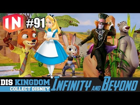 Disney Infinity 3.0 & Beyond #91 | Alice Through The Looking Glass Date + WWF Team Up