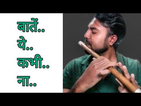 The Most Satisfying Video Ever | Baatein Ye Kabhi Na-Khamoshiyan | In Flute | Arijit Singh